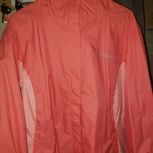 Plus size columbia light jacket